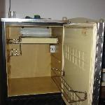 Kühlschrank von innen (verrostet)