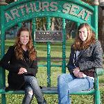 Arthur's Seat!