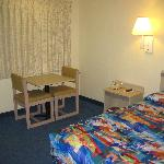 The Room - One Bed Made it Feel More Spacious