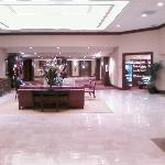 View of lobby from front doors
