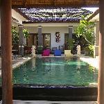 Balam, piscine