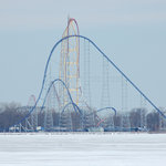 Cedar Point in winter