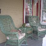 The front porch (which I hogged our whole stay)