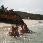 Disfrutando de Playa Flamenco