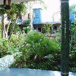 the villa gardens