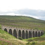 The Settle to Carlisle railway is close by