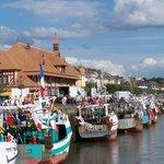 Trouville fishing boats