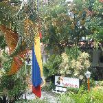 Eingang und Garten