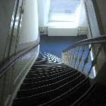 Hotel Hortus. 2ºtramo de escaleras