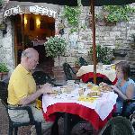 Breakfast at Hotel Berti, Assisi