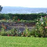 Garden & water view