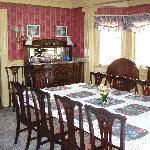 The big breakfast table