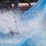 The Big splash at Aqua Rock