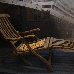 Original Titanic Deckchair