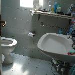 scorcio dell'unico bagno