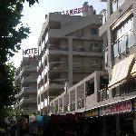 Apartments & next door Supermarket