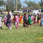 Some of the girls in the PowWow