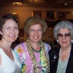 Lori, Claudia, and Claudia's mother, all who helped us organize our marriage and wedding dinner