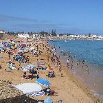 Oualidia - La plage de la lagune