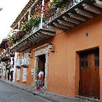 Casa Pestagua, entrada