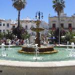 town square in Sanlucar de Barrameda