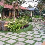 Restaurante en el jardin