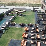 Nylo Courtyard - Accessible Through The Restaurant / Do You Really Need A Fire When It's 100+ De