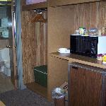 fridge & microwave in every room!