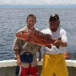 Parjo Snapper caught while fishing and eaten next day at lodge