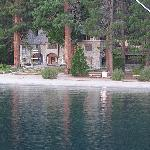 Vikensholm Castle on Emerald Bay - From the Tahoe Queen
