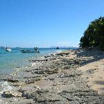 The beach & boats
