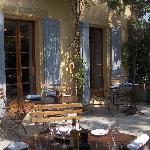 la terrase du restaurant