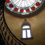 Staircase at Gerlóczy Hotel