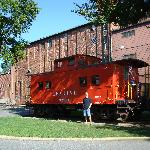 Caboose in Lititz Park