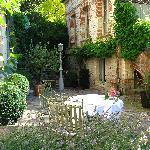 Courtyard of La Maison de Lucie