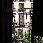 las vistas desde nuestra habitacion, con la ventana que no cerraba de fondo