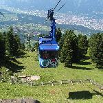 Gondola on Igls mountain