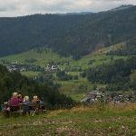 Enjoying the view over Menzenschwand