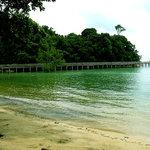 beach in front of Nongsa Village