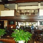 Room 414 lobby eating area
