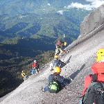 Highest point of Kinabalu Via Ferrata