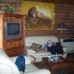 Sitting area cabin#16