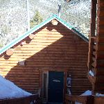 Front of cabin #16