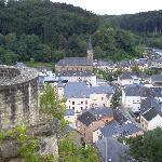 Larochette - View from the Castle