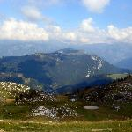 View From The Top Of Monte Baldo