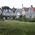Lisle Combe from the garden
