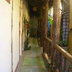 Pousada Guarana hallway
