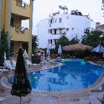 One of the larger pools in Marmaris