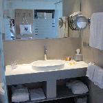 Das Bad in Zimmer 316