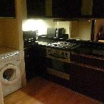 kitchen with washer-dryer